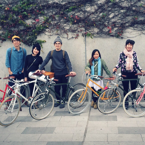tokyobike 秋季旅行 2015 髦民士多 bike the moment store tokyobike 2015 秋季小旅行 tokyobike 2015 秋季小旅行 150112 191443