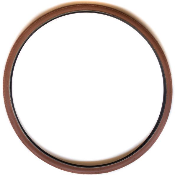 tires brown