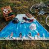 野餐墊 bike the moment kazy chan mosorsisi