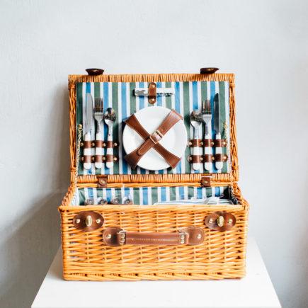 英倫復古野餐籃 英倫復古野餐藍 英倫復古野餐藍 (蜜糖色, 4人) 180208 160617 435x435